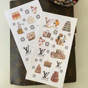 COPY - Designer planner stickers